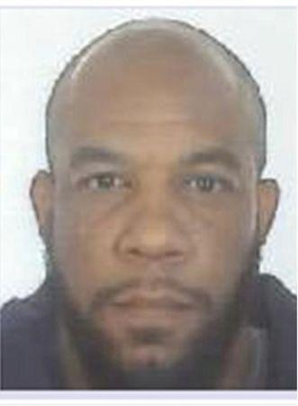 FILE PHOTO: A handout photograph released by the Metropolitan Police shows a mugshot of Khalid Masood