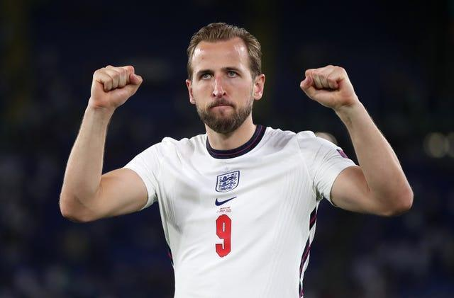 Two goals from Harry Kane helped England into the last four