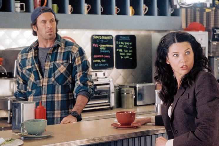 Scott Patterson and Lauren Graham (Credit: Everett Collection)