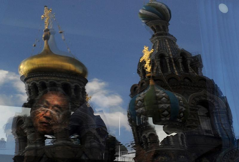 Nearly 410,000 Chinese tourists visited Russia in 2014 (AFP Photo/Olga Maltseva)