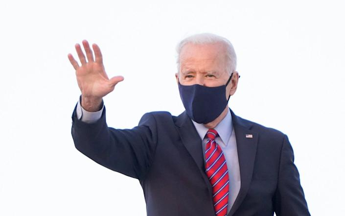 Biden has made his covid relief bill a key plank of his pandemic response - JOSHUA ROBERTS/REUTERS
