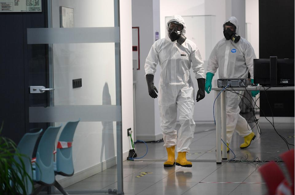 Madrid has a rate of  780 cases per 100,000 people (AFP via Getty Images)