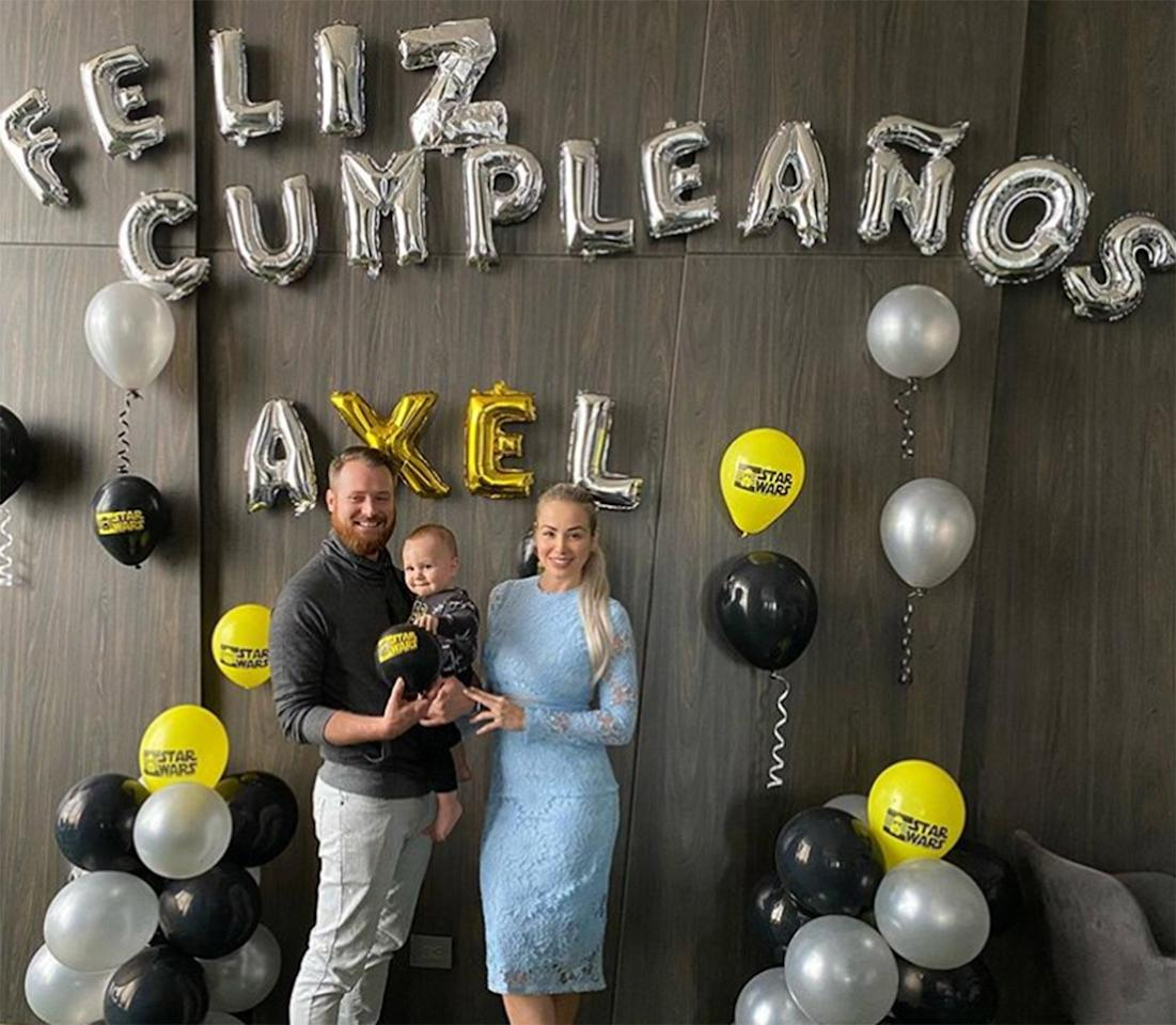"""Russ and Paola Mayfield's son <a href=""""https://people.com/parents/90-day-fiance-paola-mayfield-russ-mayfield-welcome-son-axel/"""">Axel</a> turned 1 on Jan. 1."""