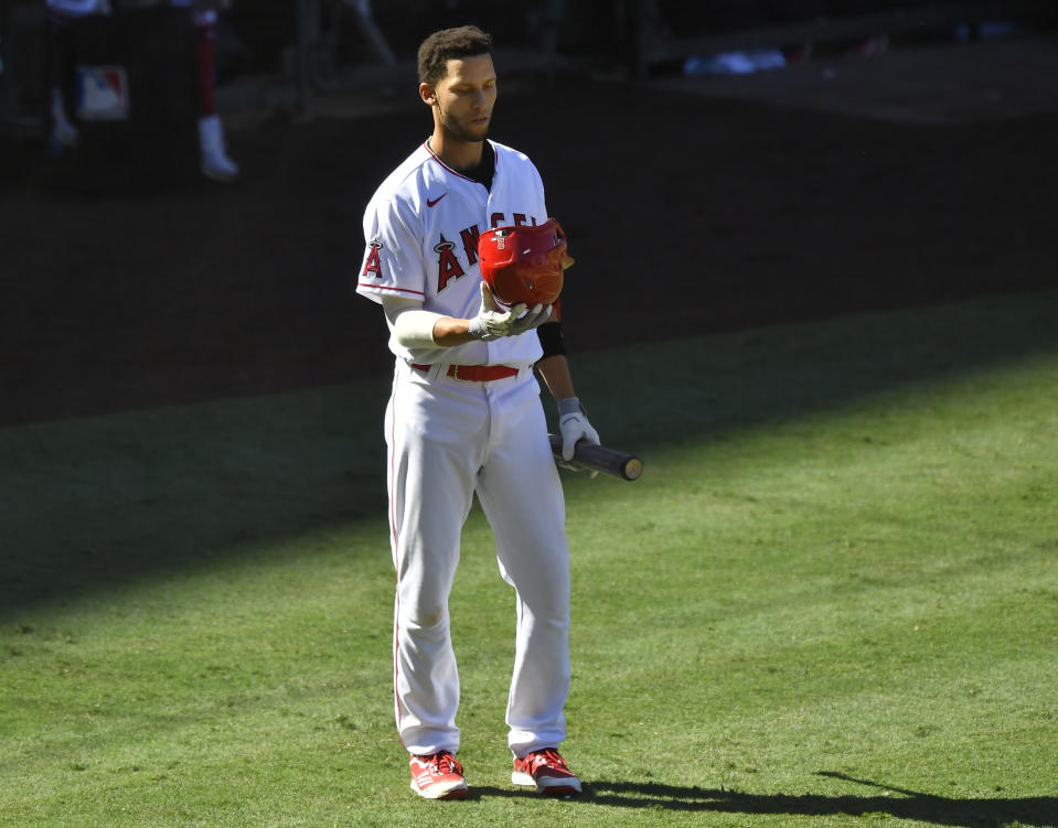 Andrelton Simmons of the Los Angeles Angels