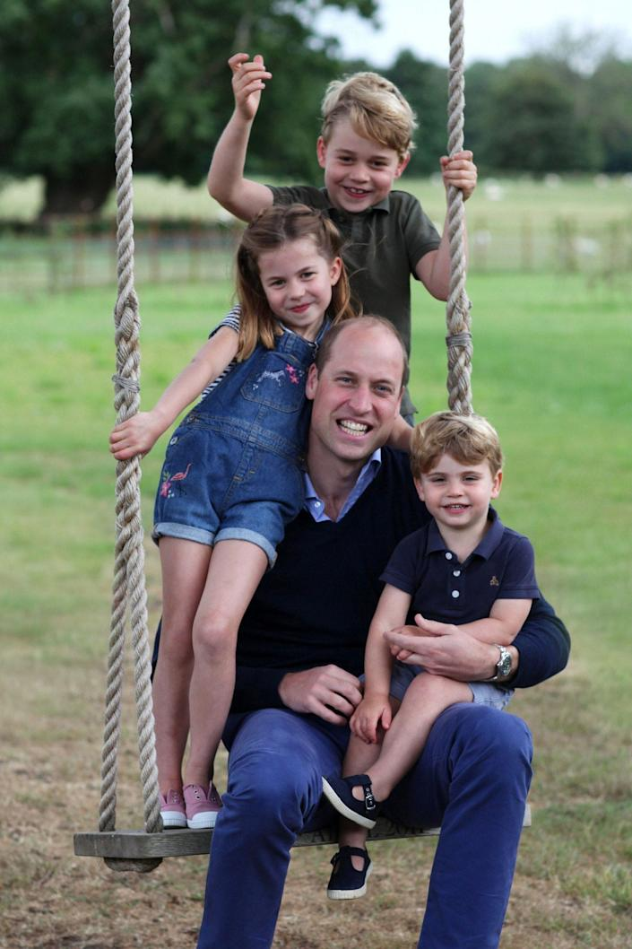Kate's interest in photography was encouraged by her father, Michael Middleton - The Duchess of Cambridge/Kensington Palace/AFP