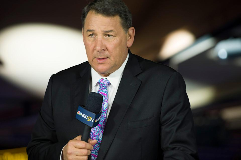 Mike Milbury, a former NHL player, coach and general manager, had been a prominent fixture on NBC's hockey coverage.