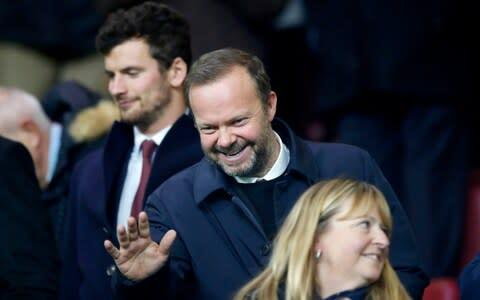 <span>United executive vice-chairman Ed Woodward held talks with the Sporting Lisbon president on Friday</span> <span>Credit: PA </span>