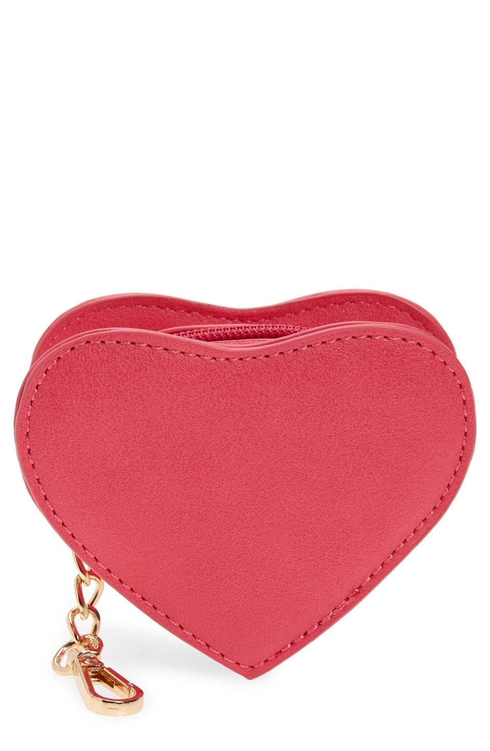 <p>This <span>BP. Heart Zip Pouch</span> ($15) is a literal expression of your love.</p>