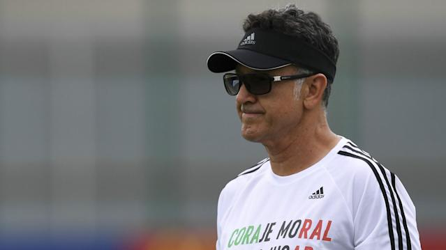 The former El Tri manager says his team was able to catch the then-world champ by surprise thanks to an intimate knowledge of their style