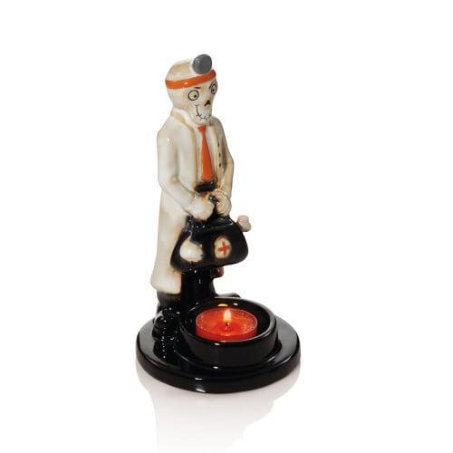 <p>When the lights are low, this <span>Doctor Screamy Tea Light Candle Holder</span> ($22) will shine bright.</p>