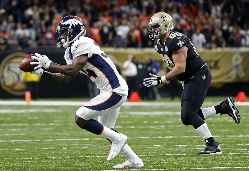 Denver defense opportunistic in 25-23 triumph over Saints