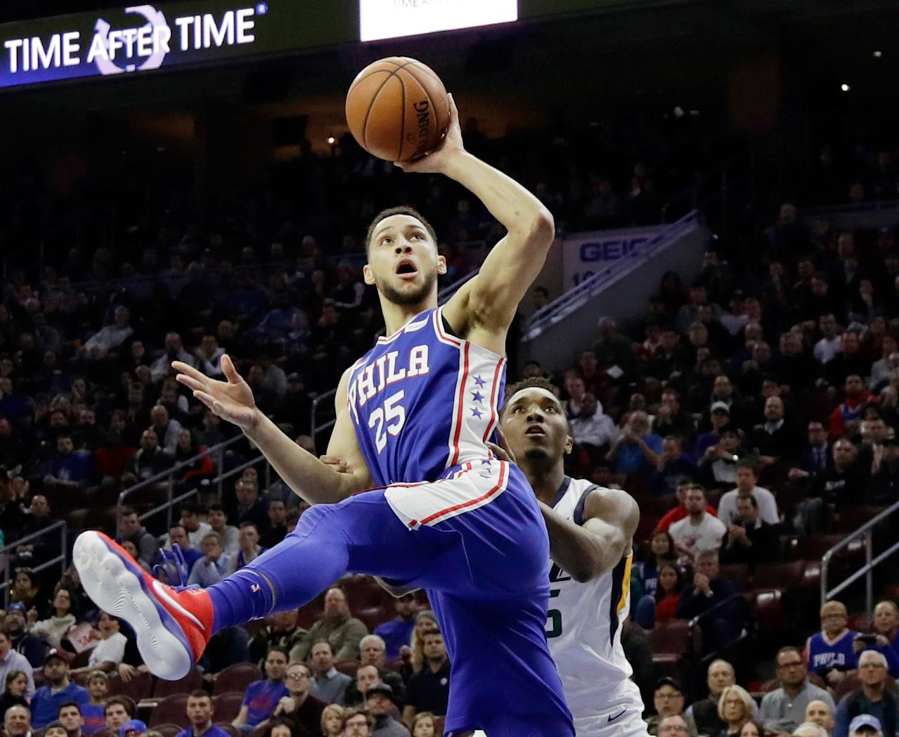 f15302d42 Does Ben Simmons  100 percent  deserve Rookie of the Year over Donovan  Mitchell