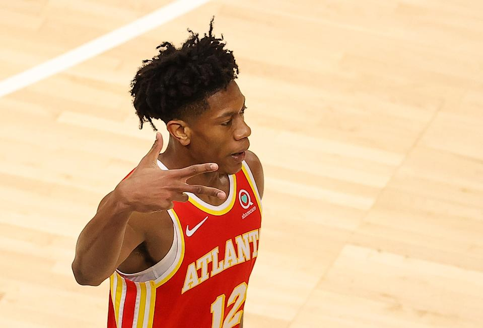 De'Andre Hunter has shown tremendous progress in his second NBA season. (Kevin C. Cox/Getty Images)