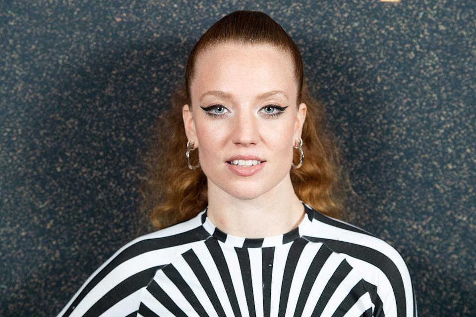 Jess Glynne attends McDonald's I'm Lovin' It Live at The Printworks on October 30, 2020 in London, England. (Photo by Dave J Hogan/Getty Images)
