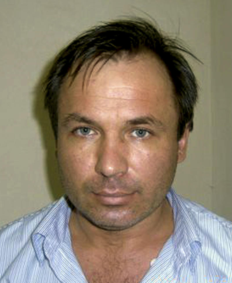 This photo provided by the U.S. Attorney's Office shows Russian pilot Konstantin Yaroshenko at the Republic of Liberia National Security Agency (RLNSA) headquarters on May 30, 2010, in Monrovia, Liberia. He was arrested on charges of conspiring to fly cocaine from South America to Africa. It is thought to be part of an emerging trend, as gangs buy or rent old jet aircraft, stuff them full of cocaine, and fly them across the Atlantic to feed Europe's growing coke habit, U.S. prosecutors say. (AP Photo/U.S. Attorney's Office)