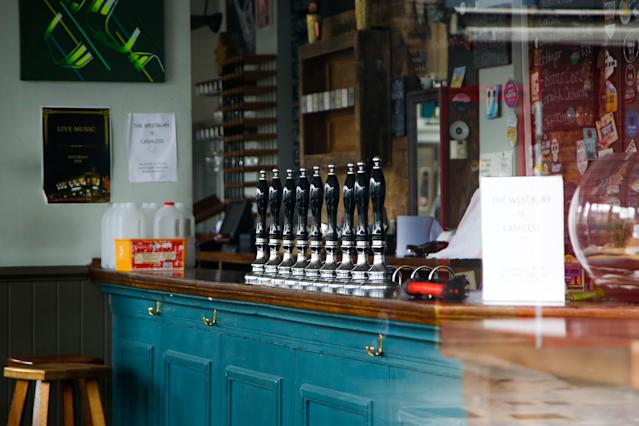Pubs have been empty for months (Picture: Getty)