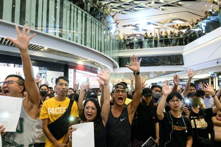 Despite the economic hardship, Hong Kong's protest movement is still able to muster huge crowds