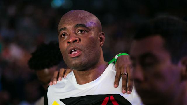 The UFC's first foray into China has hit a bump in the road after Anderson Silva was pulled from the card over a potential doping violation.