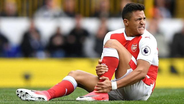 """<p>Arsene Wenger's <a href=""""http://www.90min.com/posts/4957343-european-giants-bayern-munich-on-alert-following-arsene-wenger-s-comments-over-star-alexis-sanchez"""" rel=""""nofollow noopener"""" target=""""_blank"""" data-ylk=""""slk:comments"""" class=""""link rapid-noclick-resp""""> comments</a> that he will refuse to sell star man Alexis Sanchez to a rival Premier League club, but not necessarily a foreign side has again raised the idea that Bayern will bid for the Chilean striker. </p>"""