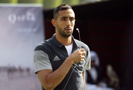 Juventus' Medhi Benatia after a training session