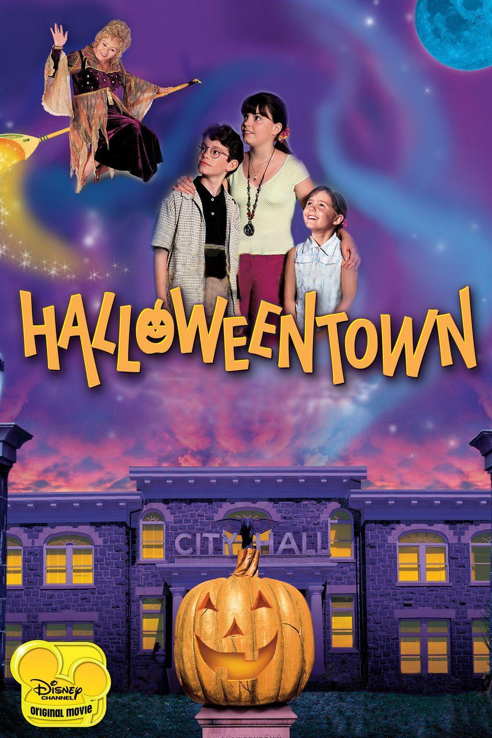 """<p>Obviously <em>Halloweentown </em>is on this list! It's the perfect non-scary Halloween movie! Plus, there are so many sequels meaning it's perfect for a movie marathon. </p><p><a class=""""link rapid-noclick-resp"""" href=""""https://go.redirectingat.com?id=74968X1596630&url=https%3A%2F%2Fwww.disneyplus.com%2Fmovies%2Fhalloweentown%2Fkn5updFQLqbG&sref=https%3A%2F%2Fwww.seventeen.com%2Fcelebrity%2Fmovies-tv%2Fg29354714%2Fnon-scary-halloween-movies%2F"""" rel=""""nofollow noopener"""" target=""""_blank"""" data-ylk=""""slk:Watch Now"""">Watch Now</a></p>"""