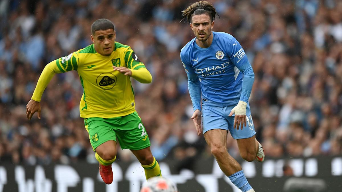 Extended highlights: Man City 5, Norwich City 0