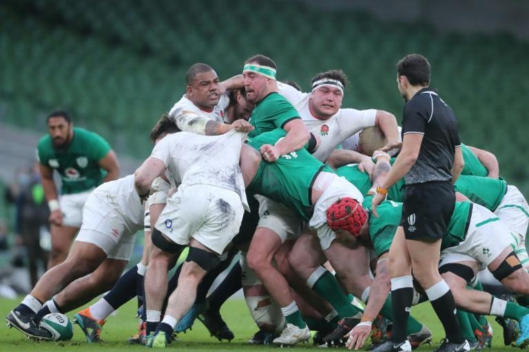 Scrum dominance - Ireland bested England at the set-piece
