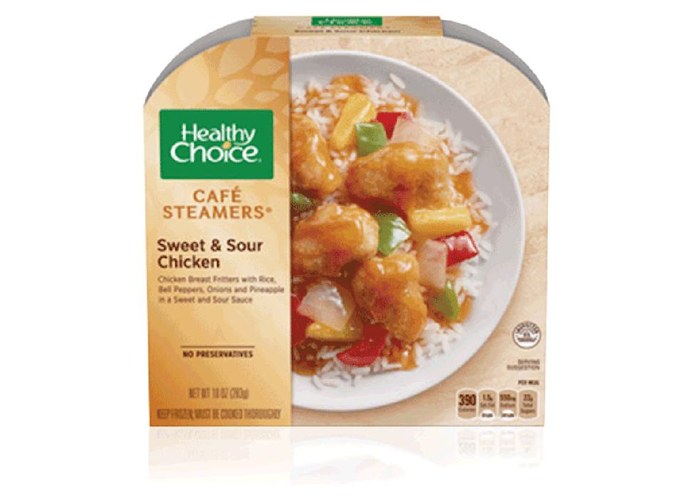 healthy choice sweet sour chicken