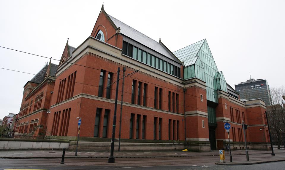 General view of Manchester Crown Court ,Minshull Street, in Manchester city centre.