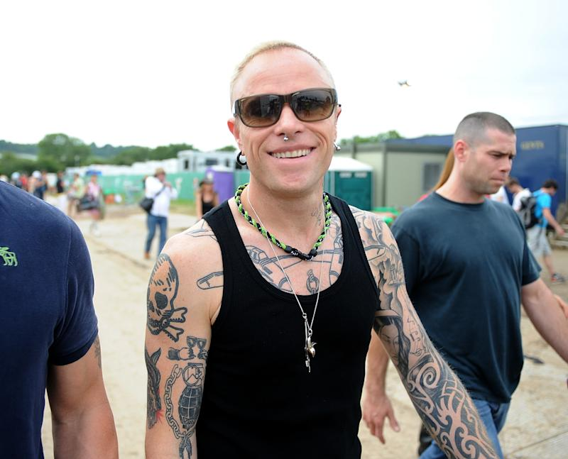Keith Flint The Prodigy frontman made people give him money