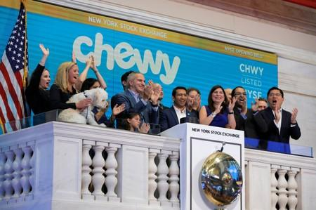 Chewy shares surge 63% in debut as investors bank on booming pet market