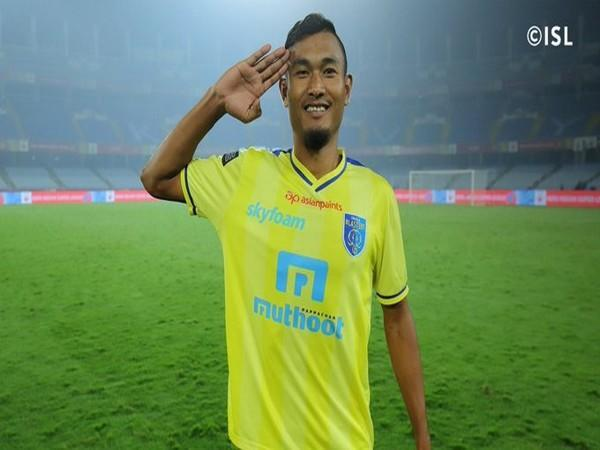 Indian midfielder Halicharan Narzary (Photo/ISL Twitter)