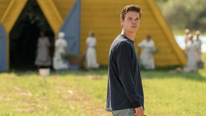Will Poulter in Midsommar (Credit: A24)