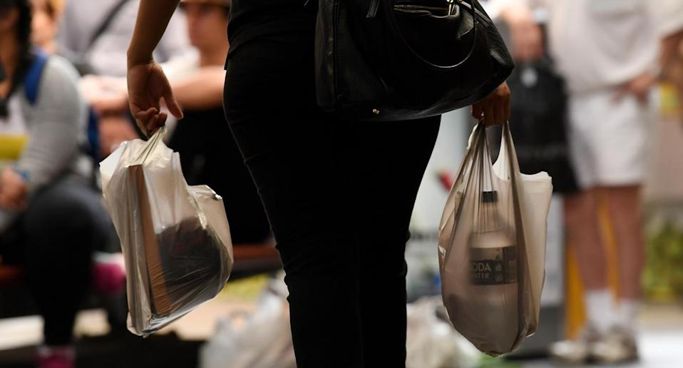 Dr Mark Browne says nobody really knows how long single-use plastic bags take to biodegrade. Source: AAP