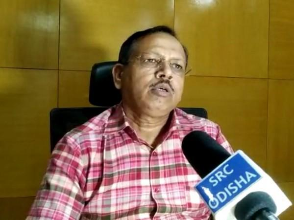 Pradeep Kumar Jena, Special Relief Commissioner of Odisha during a press briefing on Thursday. (Photo/ANI)
