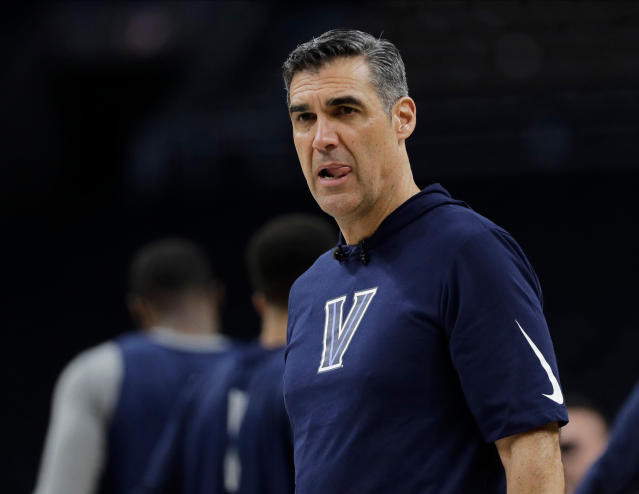 With a brand-new title banner hanging from the rafters, Villanova's Jay Wright has time for a transition phase. (AP)
