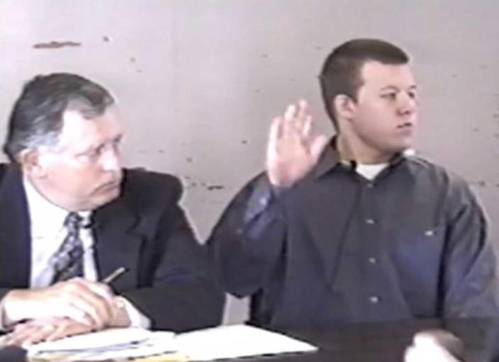 In 1997 when Paul Flores was deposed for the civil suit, the only thing he would confirm on tape was his name. He invoked the Fifth Amendment 27 times. / Credit: James Murphy