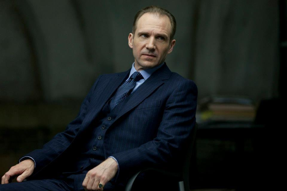 Ralph Fiennes as M (Credit: Sony)