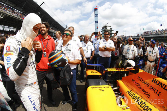 "Fernando Alonso, Andretti Autosport Honda <span class=""copyright"">Steven Tee / LAT Images</span>"