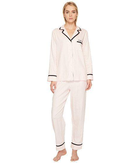 "While we can't guarantee that the new mama in your life will get much sleep, at least she'll have the silkiest set to fall asleep in. Get this cotton sateen pajama set from <a href=""https://luxury.zappos.com/p/kate-spade-new-york-classic-cotton-sateen-night-owl-pajama-set-sheer-pink-night-owl/product/8908579/color/701316"" target=""_blank"">Zappos</a>."
