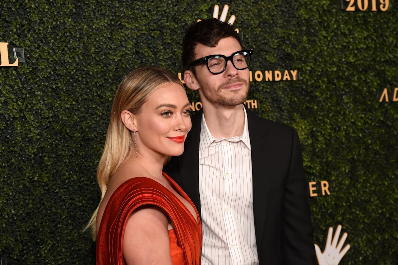 """<ul> <li>""""<a href=""""http://www.parents.com/parenting/celebrity-parents/hilary-duff-talks-mommy-wars-and-her-inner-mama-bear/"""" target=""""_blank"""" class=""""ga-track"""" data-ga-category=""""Related"""" data-ga-label=""""http://www.parents.com/parenting/celebrity-parents/hilary-duff-talks-mommy-wars-and-her-inner-mama-bear/"""" data-ga-action=""""In-Line Links"""">You have to have a lot of patience</a>, and [fiancé Matthew Koma] sure has with me . . . I feel blessed to have him. He's complimentary and appreciative of the things I do for him every day, but sometimes I can forget to tell him that he's doing a good job as well!""""</li> <li>""""<a href=""""http://www.usmagazine.com/celebrity-news/news/hilary-duff-on-divorce-marriage-and-monogamy-w449281/"""" target=""""_blank"""" class=""""ga-track"""" data-ga-category=""""Related"""" data-ga-label=""""http://www.usmagazine.com/celebrity-news/news/hilary-duff-on-divorce-marriage-and-monogamy-w449281/"""" data-ga-action=""""In-Line Links"""">It's something to be taken very seriously</a>, and I was so happy to be married [to ex-husband Mike Comrie]. I think that I was in a very successful marriage for a long time. I never want to have any negative . . . I mean, that's hard to say: 'no negative feelings.' But we got together based on love, and we separated in a very loving way. I can't imagine going through that process with anyone but him, and he continues to be my very good friend . . . But marriage is sacred and marriage is not for everyone. Marriage is work. Marriage is really hard.""""</li> </ul>"""