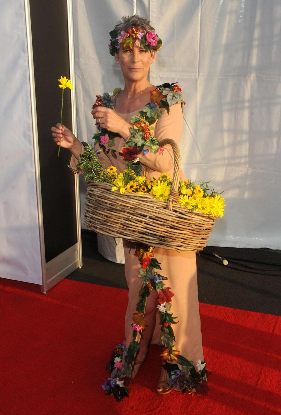 <p>Jamie Lee Curtis at the 16th Annual Dream Halloween Benefiting Children Affected by AIDS Foundation, Los Angeles, America – 24 Oct 2009 (Startraks Photo/REX/Shutterstock) </p>