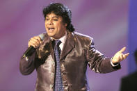 Juan Gabriel was a Mexican superstar who sold more than 100 million records worldwide, making him one of Latin America's best-selling singer-songwriters. He died of a heart attack on Aug. 28. He was 66. (Photo: Giulio Marcocchi /Getty Images)