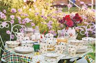 <p>Upgrade your kitchenware with these stunning egg cups, tea pots, plates, bowls and napkins. Now all we need is some warm weather to dine alfresco... </p>