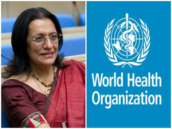 Dr Poonam Khetrapal Singh, Regional Director, WHO South-East Asia