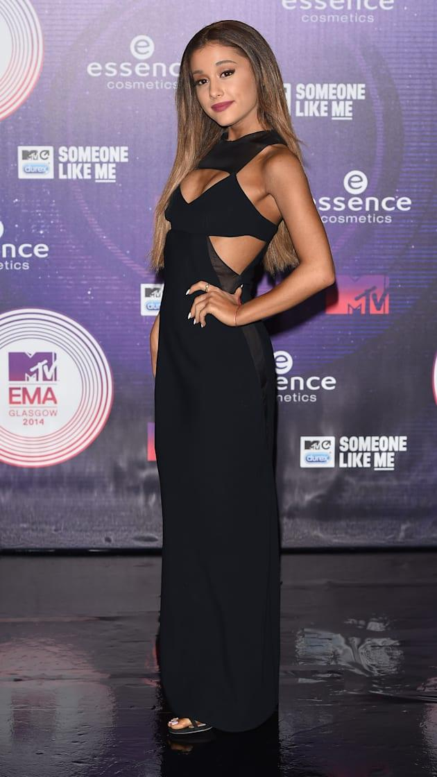 Ariana Grande at the MTV EMA's 2014