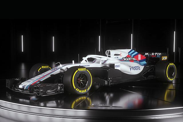 "2018 (Lance Stroll, Williams-Mercedes FW41) <span class=""copyright"">Williams </span>"