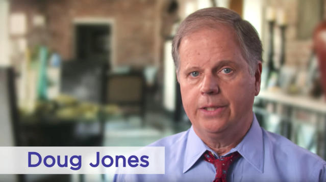 Doug Jones, the Democratic candidate for an Alabama Senate seat, released his first TV ad on Monday, pitching himself as an independent voice who can bring some positive change to a dysfunctional Washington.