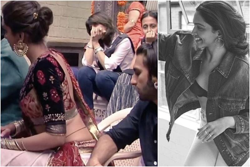 Ranveer Singh Got His Eyes on Deepika Padukone in Throwback Pic