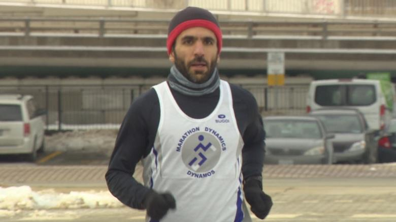 Toronto man finishes Boston Marathon after victory against Trump travel ban